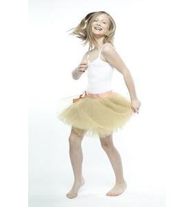 Короткая шифоновая юбка